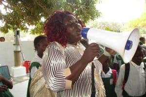 The Water Project: DEC Makassa Primary School -  Isata M Conteh