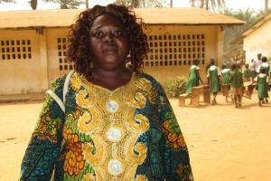 The Water Project: DEC Makassa Primary School -  Isatu M Conteh