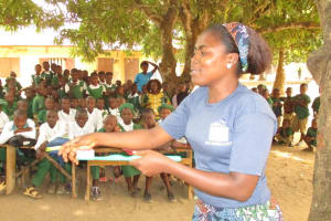 The Water Project: DEC Makassa Primary School -  Lesson On Dental Care