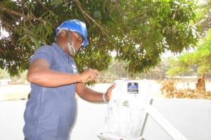 The Water Project: DEC Makassa Primary School -  Pump Installation