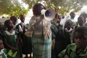 The Water Project: DEC Makassa Primary School -  Thank You Speech From Iasatu Conteh