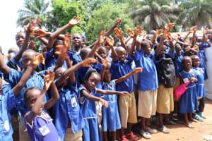 The Water Project: Mahera, SLMB Primary School -  Dedication Celebration