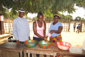 The Water Project: Mahera, SLMB Primary School -  Handwashing Training