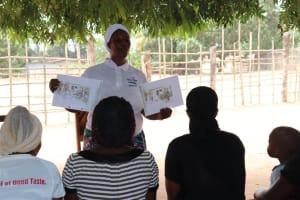 The Water Project: Mahera, SLMB Primary School -  Hygiene Trainer