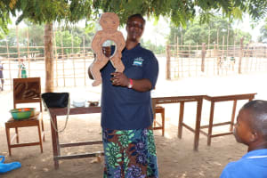 The Water Project: Mahera, SLMB Primary School -  Learning About Diarrhea