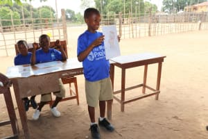 The Water Project: Mahera, SLMB Primary School -  Student Participation