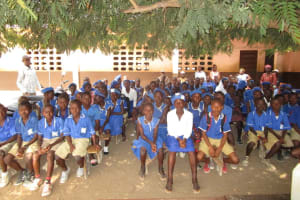 The Water Project: Mahera, SLMB Primary School -  Students At The Training