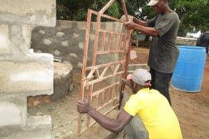 The Water Project: Mahera, SLMB Primary School -  Gate
