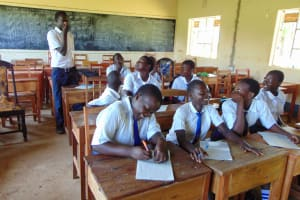 The Water Project: Bululwe Secondary School -  Active Participation