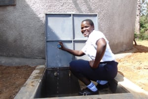 The Water Project: Bululwe Secondary School -  Fresh Drink