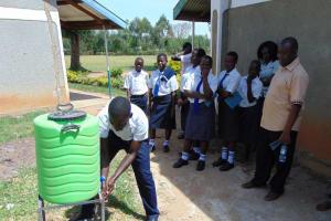 The Water Project: Bululwe Secondary School -  Handwashing