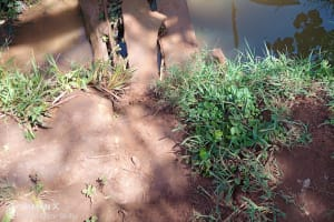 The Water Project: Emulembo Community, Gideon Spring -  Current Water Source