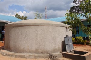The Water Project: Hombala Secondary School -  Completed Tank