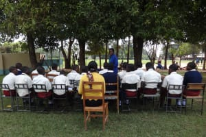 The Water Project: St. Theresa's Bumini High School -  Training Begins