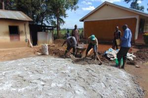 The Water Project: Kimangeti Girls' Secondary School -  Preparing The Site