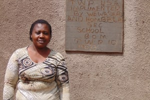 The Water Project: Hombala Secondary School -  Shuah Lukayo