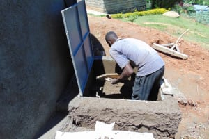 The Water Project: Dr. Gimose Secondary School -  Tap Box Construction