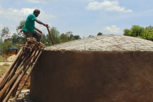 The Water Project: Imanga Secondary School -  Dome Construction