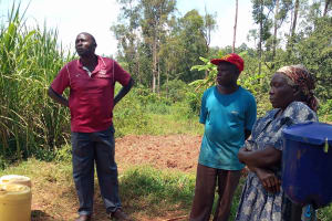 The Water Project: Emulembo Community, Gideon Spring -  Community Members