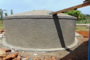 The Water Project: Imanga Secondary School -  Completed Tank