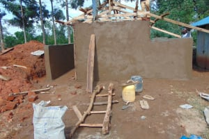 The Water Project: Hombala Secondary School -  Latrine Construction