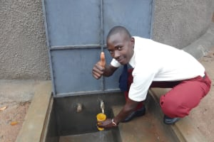 The Water Project: St. Theresa's Bumini High School -  Thumbs Up