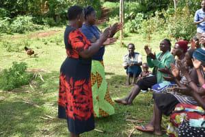 The Water Project: Ataku Community, Ngache Spring -  Ice Breaker Begins Training