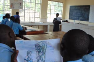 The Water Project: Hombala Secondary School -  Training Materials