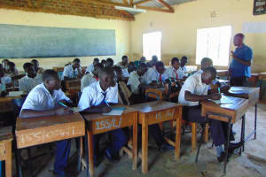 The Water Project: Imanga Secondary School -  Training Begins