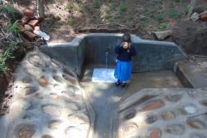 The Water Project: Emukangu Community, Okhaso Spring -  Fresh Water