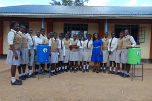 The Water Project: Kimangeti Girls' Secondary School -  Training Complete