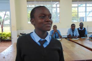 The Water Project: Hombala Secondary School -  Student Listens