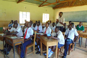The Water Project: Imanga Secondary School -  Answering A Question