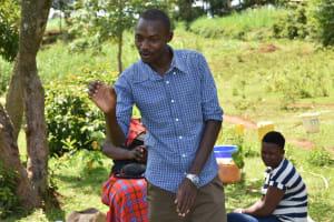 The Water Project: Ataku Community, Ngache Spring -  Trainer Protus