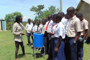 The Water Project: Imanga Secondary School -  Handwashing Training