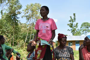 The Water Project: Ataku Community, Ngache Spring -  Active Participation