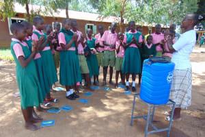 The Water Project: Mukhweya Primary School -  Handwashing Training
