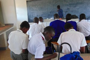 The Water Project: Dr. Gimose Secondary School -  Taking Notes