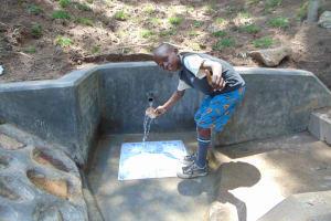 The Water Project: Emukangu Community, Okhaso Spring -  Thumbs Up