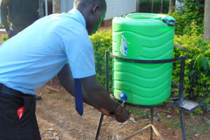The Water Project: Hombala Secondary School -  Handwashing Practice