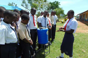 The Water Project: Imanga Secondary School -  Handwashing Practice