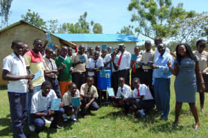 The Water Project: Imanga Secondary School -  Training Complete