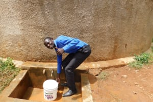The Water Project: Malimili Secondary School -  Sanitation Teacher Alan Amuchisi