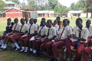 The Water Project: St. Theresa's Bumini High School -  Attentive Audience