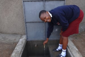 The Water Project: St. Theresa's Bumini High School -  Running Water