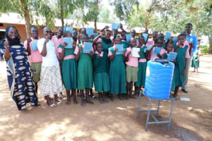 The Water Project: Mukhweya Primary School -  Training Complete