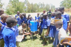 The Water Project: Eshiakhulo Primary School -  Handwashing Training