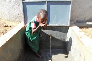 The Water Project: Mukhweya Primary School -  Drink Up