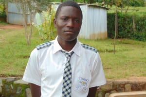 The Water Project: Dr. Gimose Secondary School -  Vincent Luseno