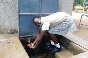 The Water Project: Kimangeti Girls' Secondary School -  Flowing Water